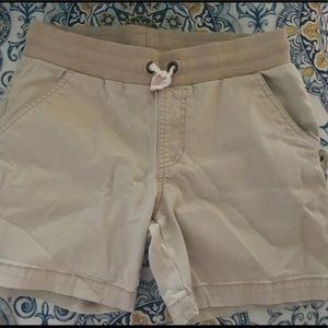 Girls Khaki Shorts sz 10/12
